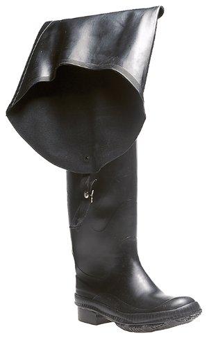 Thigh Fishing Wader - Black - Black - size UK Mens Size 11