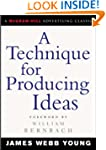 A Technique for Producing Ideas (McGr...