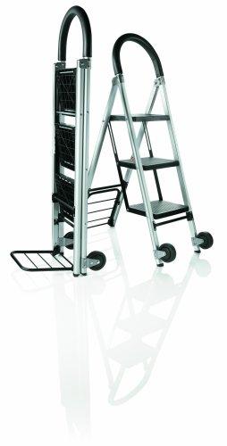 Travel Smart by Conair Ladderkart Professional Grade Stepladder