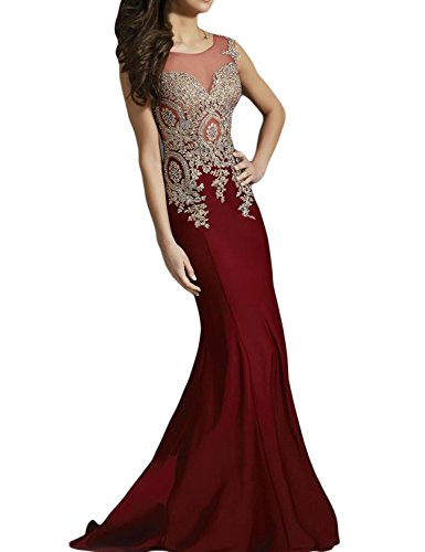 seasonsmall-womens-luxury-prom-dresses-mermaid-scoop-spandex-sweep-train-dresses-size-0-burgundy