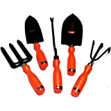 Ketsy 591 Garden Tool Kit - Orange (5 Tools)