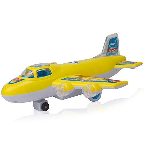 Bump And Go Mini 747 Airbus Electric Kids Action Airplane - Model Plane With Attractive Lights And Sounds - Changes Direction On Contact - Best For Kids Age 3 And Up. (Colors May Vary) (Airbus Model compare prices)