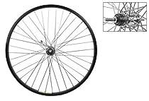 Wheel Rear 26 x 1.75 Black Alloy Cruiser, Shimano E110 Coaster Hub, Bolt On, 12g SS Spokes, 36H