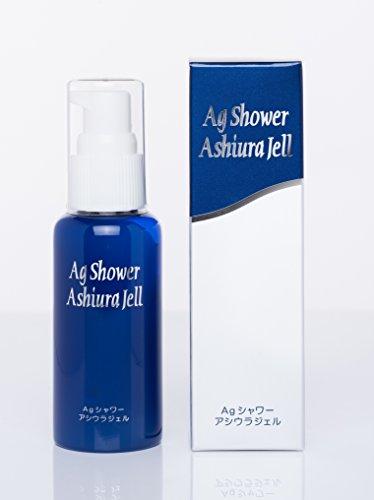 保湿清潔ジェル Agシャワーアシウラジェル 防臭抗菌・保湿作用 60g