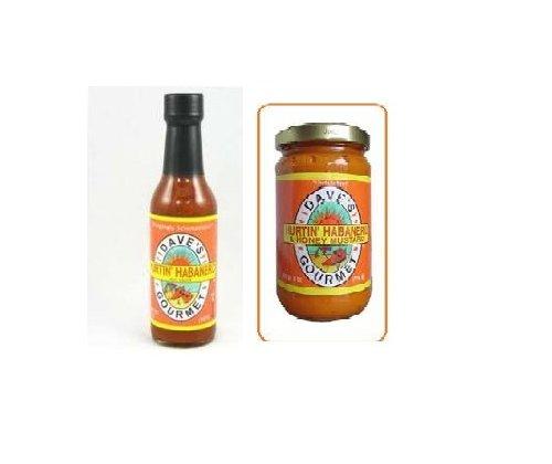 Daves Hurtin' Habanro Sauce & Daves Hurtin' Habanero Mustard Set!