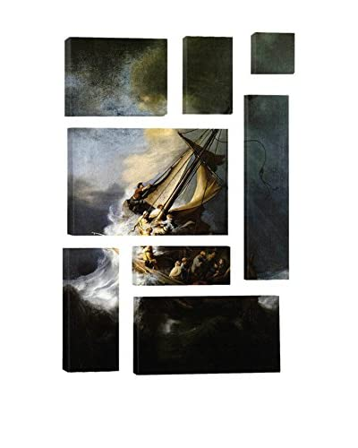 Rembrandt The Storm On The Sea Of Galilee 8-Piece Canvas Print Set