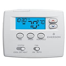 "White Rodgers 1F87-0261 2"" Display Single Stage 7 Day Programmable Digital Thermostat"