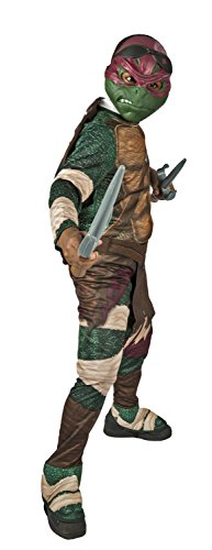 Teenage Mutant Ninja Turtles Childs Raphael Costume with Sais Sword
