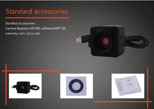 5.0Mp Hd Usb Electronic Digital Eyepiece Camera Cmos F Telescopes Microscopes Us