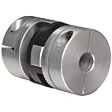 Huco Oldham Coupling, Aluminum, Inch