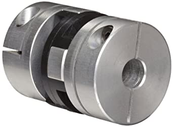 Huco Oldham Coupling, Aluminum, Inch