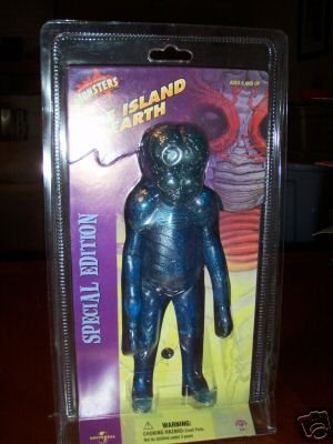 Sideshow This Island Earth Clear Blue Metaluna Mutant Figure by Universal Monsters
