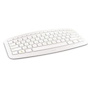 Microsoft Arc Wireless USB Keyboard for PC and Xbox 360 (White)