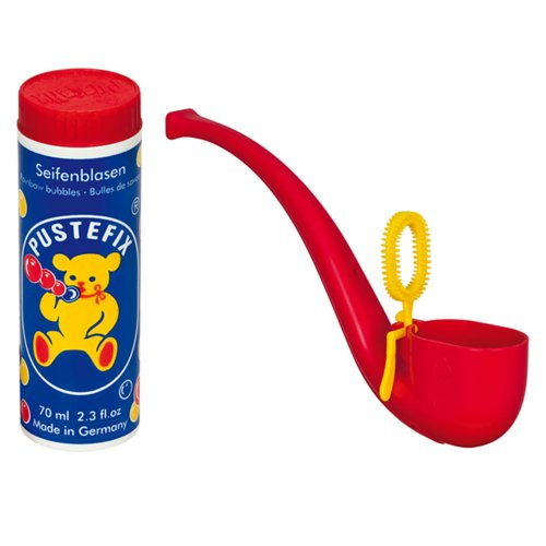 Pustefix - Pipa Pompas con tubo, 70 ml (Carrera 420869435)