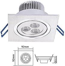 3W LED Spotlight in Warm White Light Source IP40