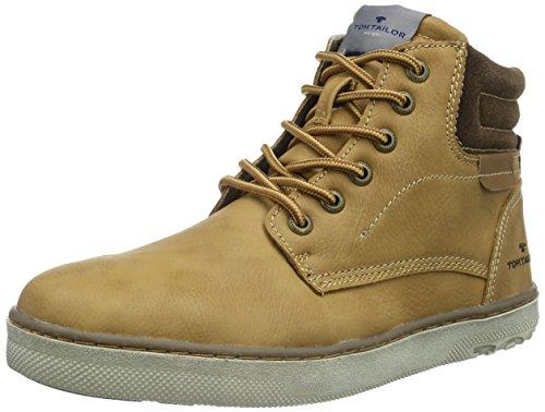 Tom Tailor uomo 8580403elevata Sneakers, marrone (Marrone (Cammello )), 45 EU