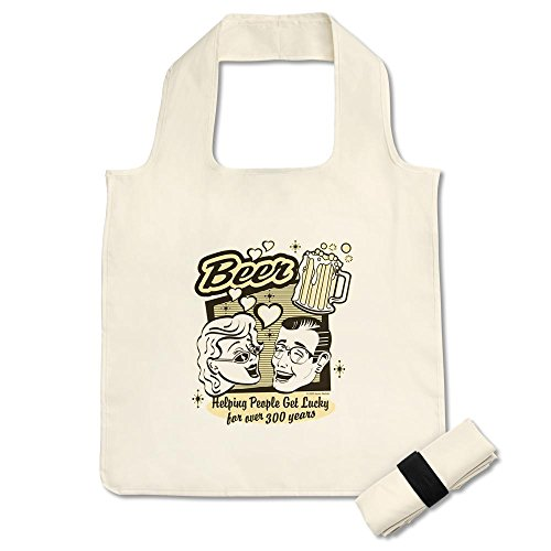 reusable-shopping-grocery-bag-white-beer-helping-people-get-lucky