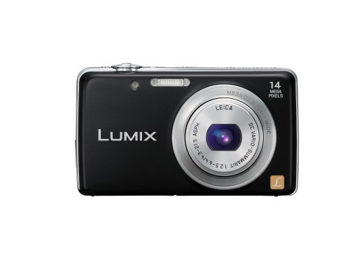 Panasonic DMC-FS40EB-K Black 14 Megapixal Camera