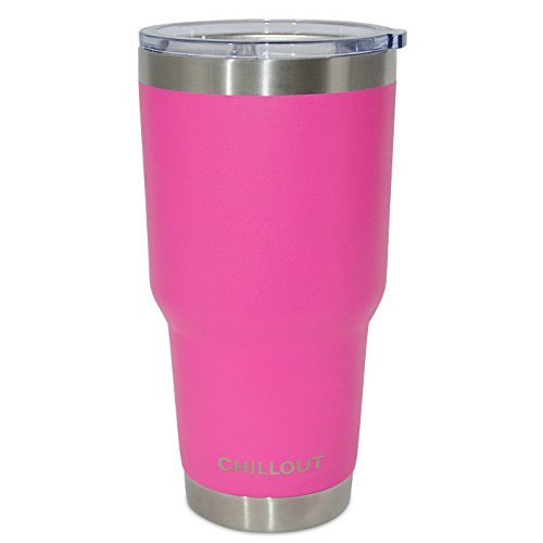 Hot Pink Stainless Double Wall Insulated Thermal Travel