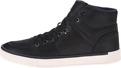Tommy Hilfiger Men's Keon Black Sneaker 8.5 D (M)