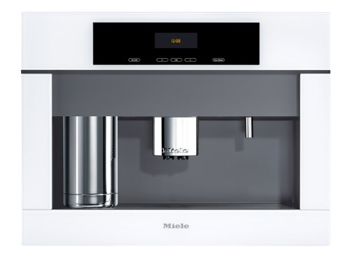 Miele CVA4062BRWS Plus 24 Built-in Grind and Brew Whole Bean Coffee System, Brilliant White