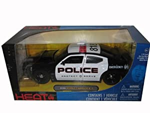 2006 Dodge Charger Police 1:24 Diecast Car Model Jada