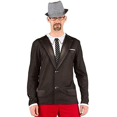 PhotoRealistic 1960's Suit Costume T-Shirt