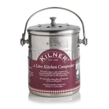 kilner-2-litre-kitchen-composter-silver