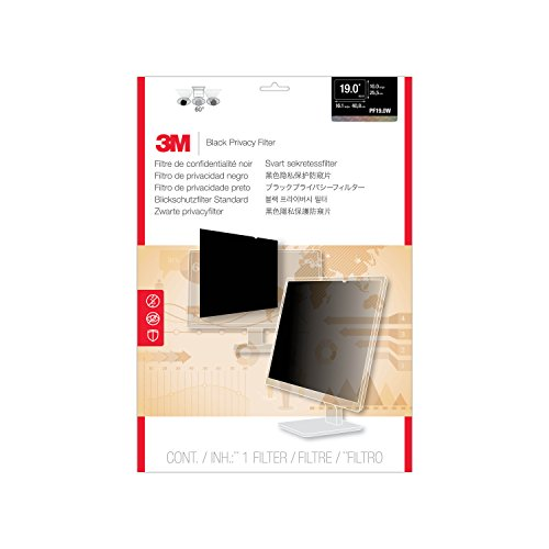 3M Privacy Filter for Widescreen Desktop LCD Monitor 19.0