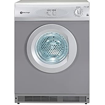 White Knight WK44AS Large Reverse Action Vented Tumble Dryer in Silver