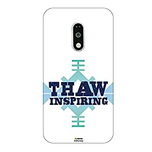 Hamee Disney Princess Frozen Official Licensed Designer Cover Hard Back Case for Lenovo K5 Note ( Thaw Inspiring )