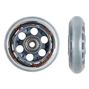 Rollerblade Performance Wheel Kit with SG7 Quality Bearings (8-Pack) by Rollerblade