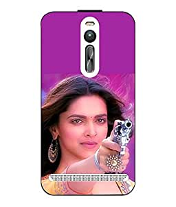 Snazzy Bollywood Printed Multicolor Hard Back Cover For Asus Zenfone 2
