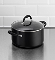 Black Aluminium Stockpot