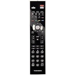 Thomson ROC 2411 Télécommande universelle 2 en 1 Noir