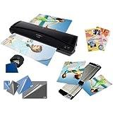 Plastificatore OLYMPIA A230 + 60 Pellicole + Cutter + Cutter angoli + Carta fotografica, 73 pezzi