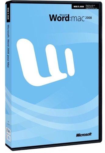 Microsoft UP Word 2008 (vf)