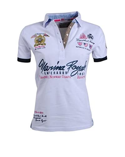 Geographical Norway Poloshirt Kipawaldy weiß