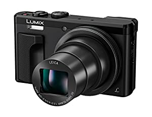Panasonic LUMIX DMC-ZS60 Camera, 18 Megapixels, 1/2.3-inch Sensor, 4K Video, WiFi, Leica DC Lens 30X F3.3-6.4 Zoom (Black)
