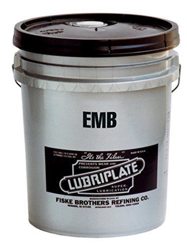 Lubriplate Emb Grease, L0148-035, Lithium Polymer Type Grease, 35 Lb Pail