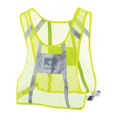 Nathan Hydration 2014 Night Fall Reflective Safety Vest - Hi Viz Yellow - 2018NGNY