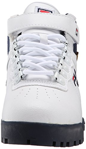 Fila Men's F-13 Weather Tech Hiking Boot, White/Fila Navy/Fila Red, 10.5 M US