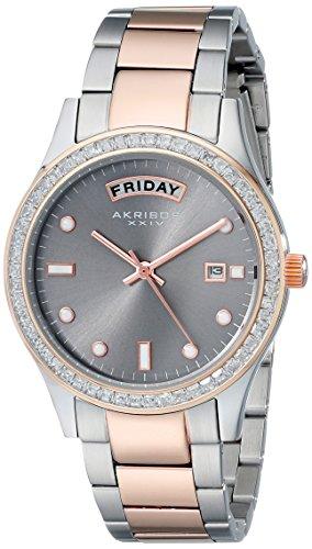 Akribos XXIV Brown Ladies Watch AK691TTR
