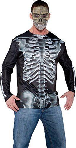 Morris Costumes Photo Real Shirt X-Ray Adult