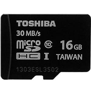 microSDHC 16GB Toshiba 東芝 UHS-I 30MB/s 並行輸入品