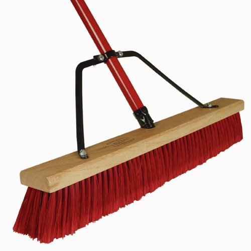 Images for Harper Brush Works 24-Inch Heavy Duty Border Push Broom 583124A-1