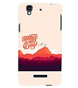 PRINTSWAG TEXT Designer Back Cover Case for MICROMAX YU YUREKA