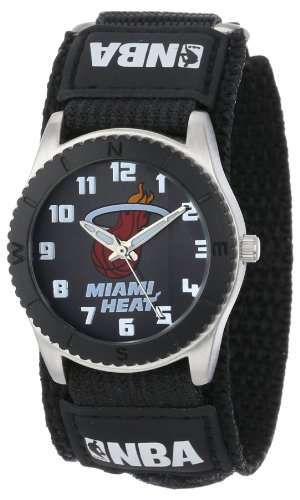 Game Time  Mid-Size NBA-ROB-MIA Rookie Miami Heat Rookie Black Series Watch