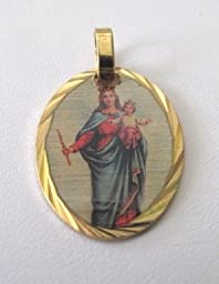 Blessed By Pope Francis Mary Help of Christians Medal Engravable