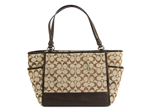 You Save Coach Park Signature Carrie Tote